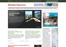 whistlerresource.com