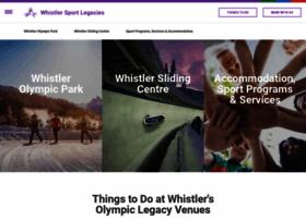 whistlersportlegacies.com