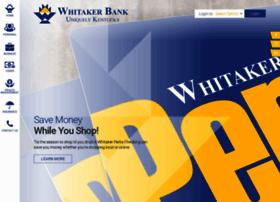 whitakerbank.com