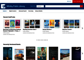 whitby.bibliocommons.com