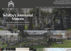 whitbysmemorials.co.uk