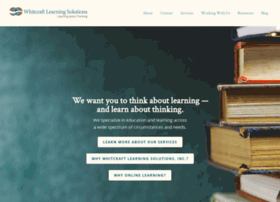 whitcraftlearningsolutions.com
