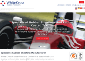 white-cross-rubber-products.co.uk