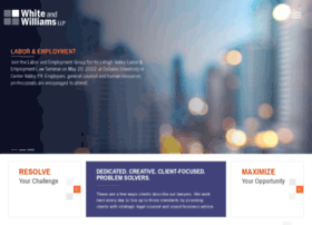 whiteandwilliams.com