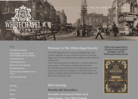 whitechapelsociety.com