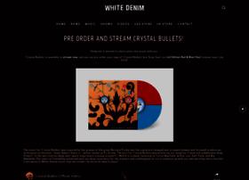 whitedenimmusic.com