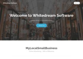 whitedreamsoftware.co.uk