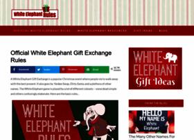 whiteelephantrules.com
