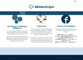 whiteheartforsyria.com
