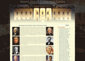 whitehousechristmascards.com