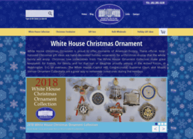whitehousechristmasornament.com