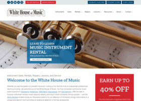 whitehouseofmusic.com