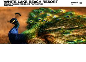 whitelakebeachresort.com