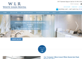 whitelinenrental.com