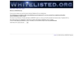 whitelisted.org