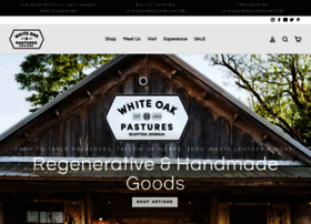 whiteoakpastures.com