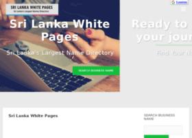 whitepage.lankabusinesspage.com