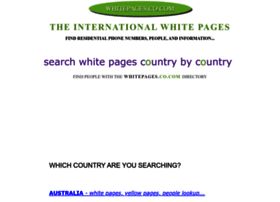 whitepages.co.com