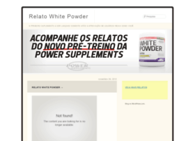 whitepowderrelato.wordpress.com