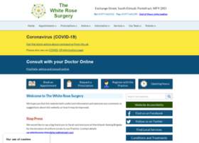 whiterosesurgery.co.uk
