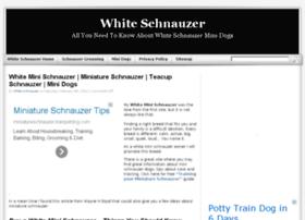 whiteschnauzer.org