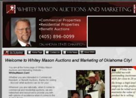 whitey-mason-auctions-and-marketing.com