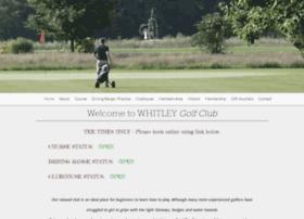 whitleygolfclub.com