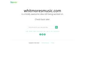whitmoresmusic.com