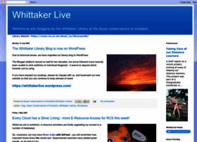 whittakerlive.blogspot.com