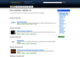 whittier-ca.chaosads.com