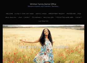 whittierfamilydental.com