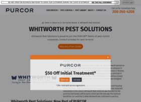 whitworthpestsolutions.com