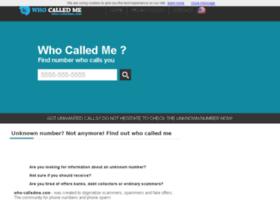 who-calledme.com
