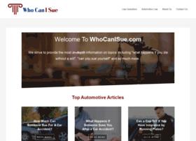 whocanisue.com