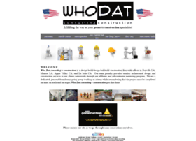 whodatconsulting.com