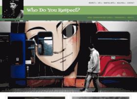 whodoyourespect.com
