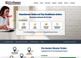 whofinance.de