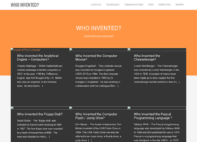 whoinvented.org
