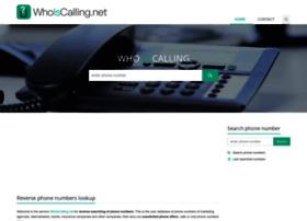 whoiscalling.net