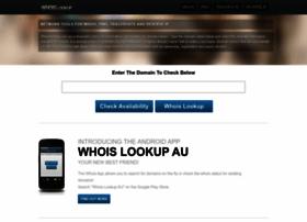 whoislookup.com.au