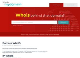 whoismydomain.com.au