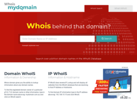 whoismydomain.in
