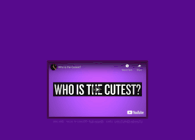 whoisthecutest.com