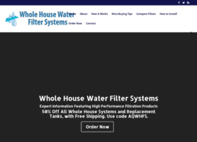 wholehousewaterfilter.us