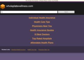 wholeplatewellness.com