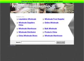wholesale-supplier.com