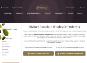 wholesale.divinechocolateusa.com
