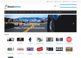 wholesaleautoplates.com