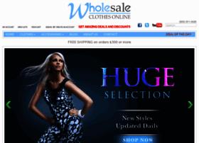 wholesaleclothesonline.com