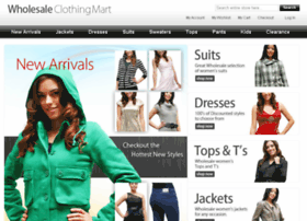 wholesaleclothingmart.com